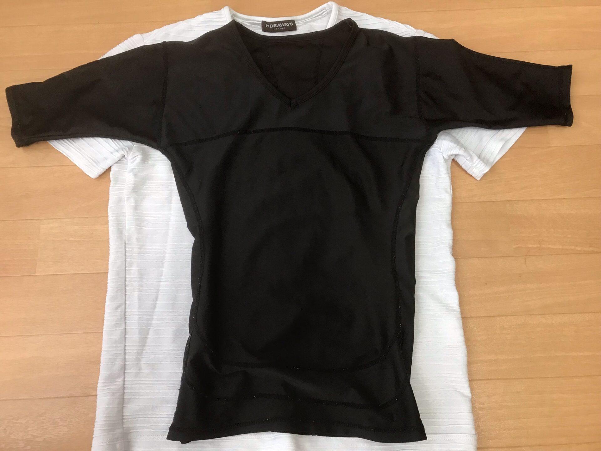 シックスチェンジと通常のシャツを比較